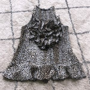 Animal Print Milano Blouse